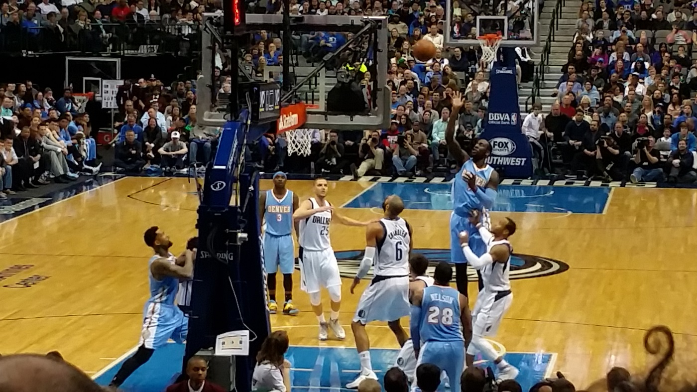 Nuggets vs Mavs