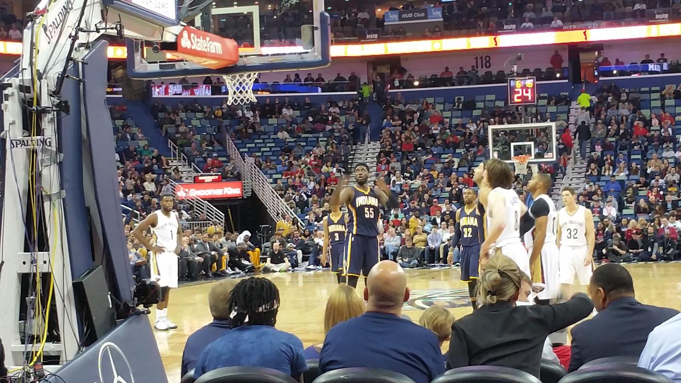 Pacers vs Pelicans
