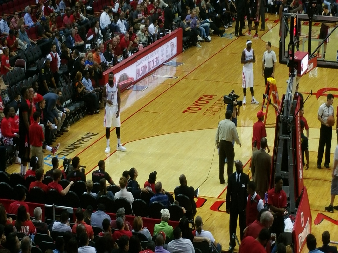 Heat vs Rockets