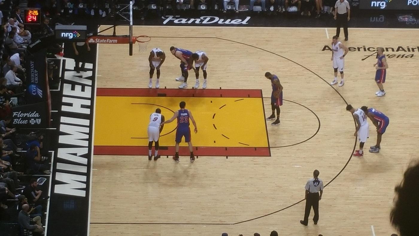 Pistons vs Heat