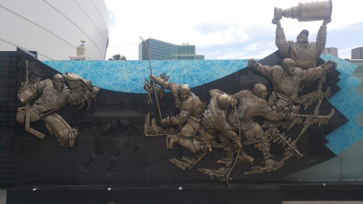 Staples Center Star Plaza