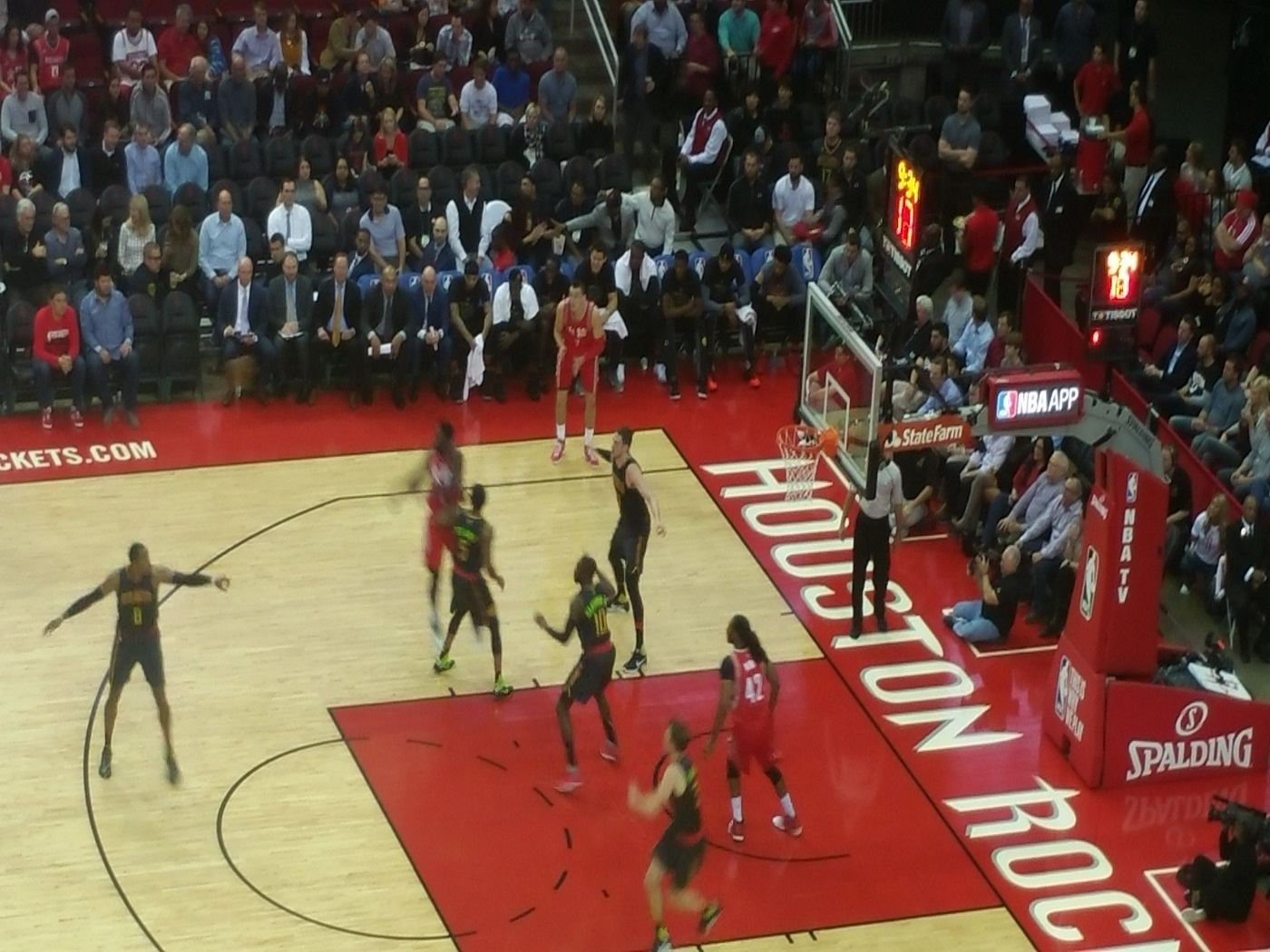 Hawks vs Rockets
