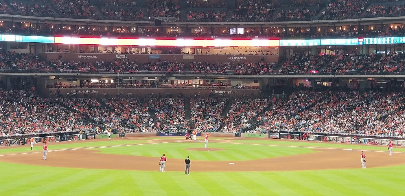 Angels vs Astros