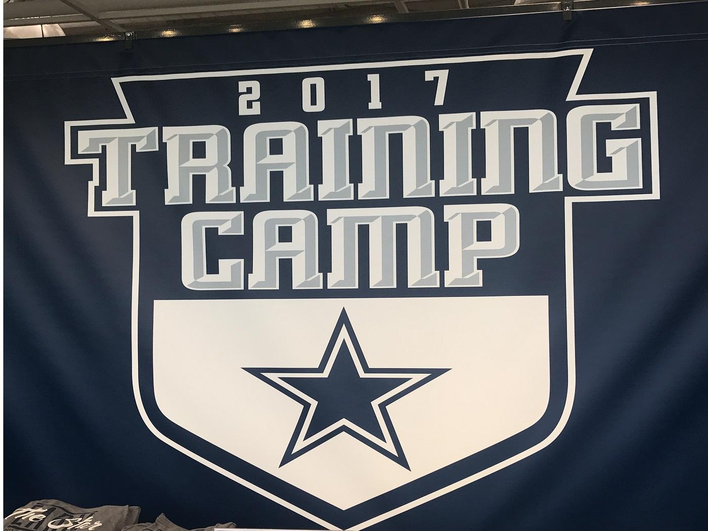2017 Cowboys Training Camp