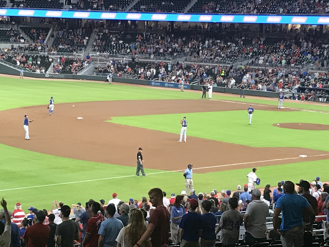 Rangers vs Braves