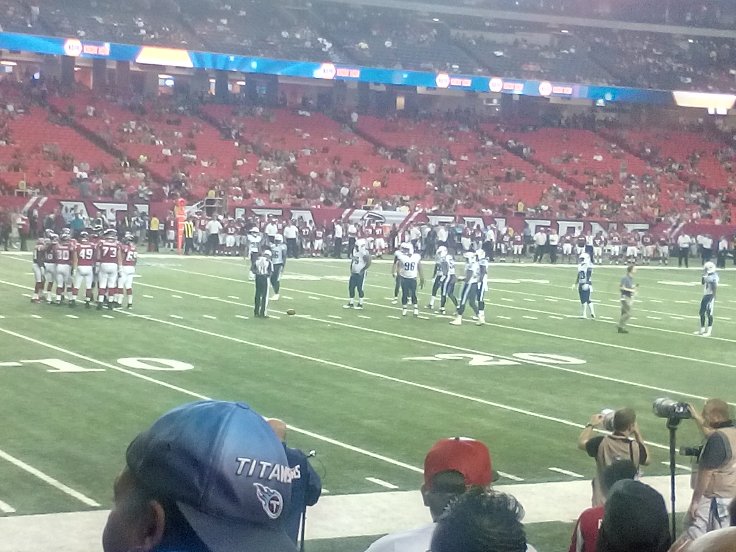 Titans vs Falcons